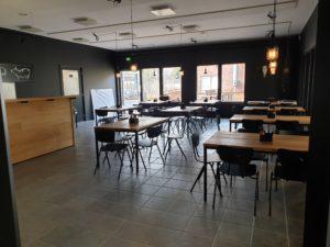 JJ's BBQ Restaurant dining area
