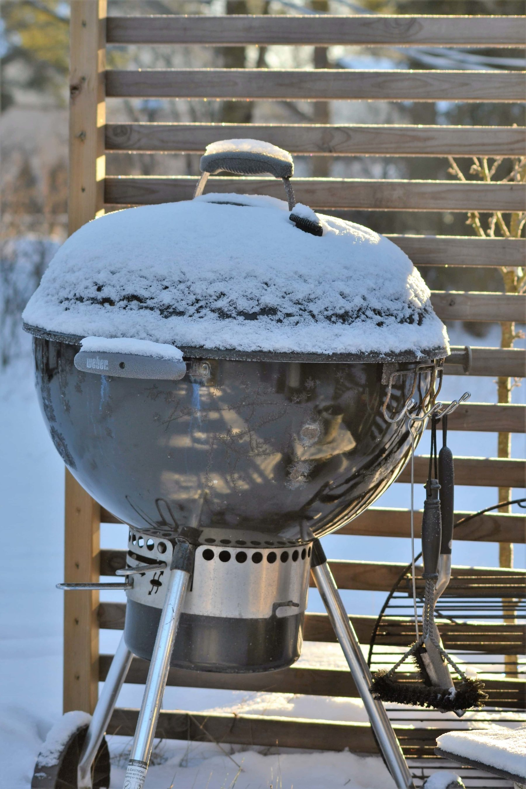 Weber Master Touch Arctic BBQ